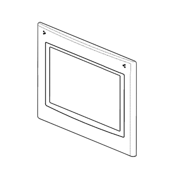 Door Panel Oven Outer Includes Glass