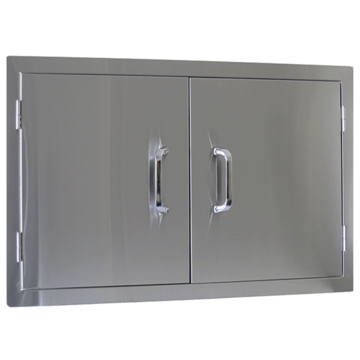 Door Set Stainless Steel- Double